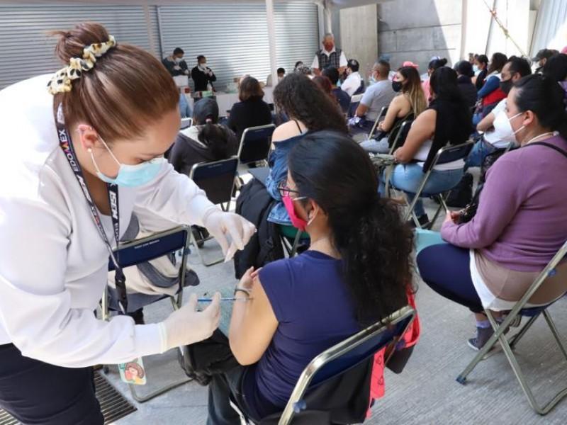 Anuncian segunda dosis para 26 municipios del EDOMEX