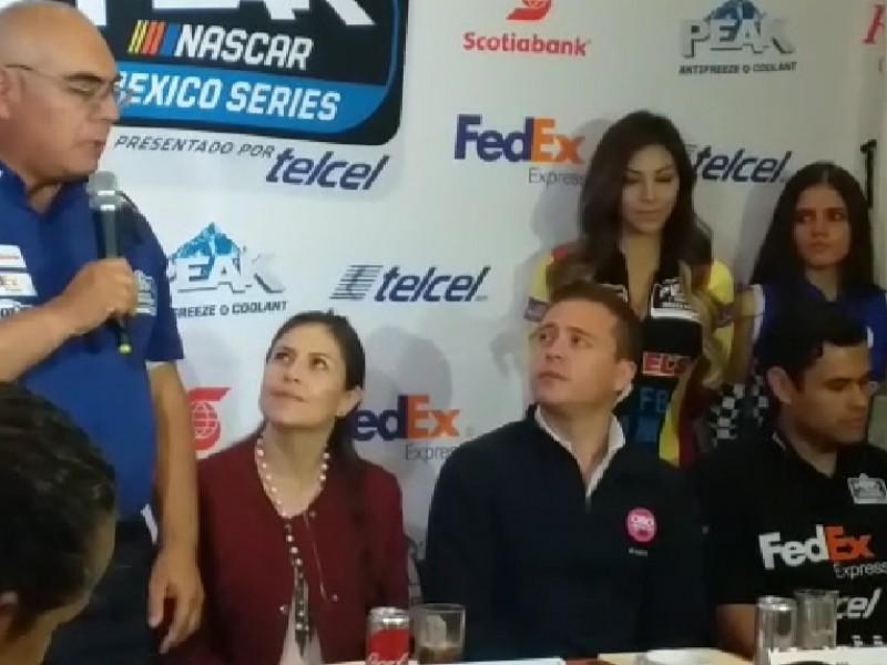 Anuncian séptima carrera  Nascar en Querétaro