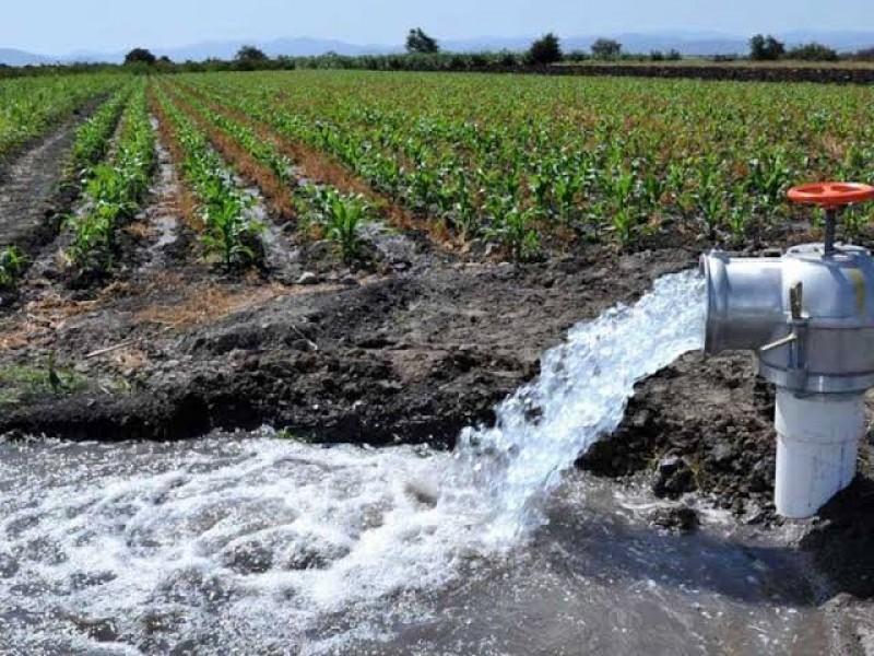 Anuncian suspensión de bombeo en pozos agrícolas en el mayo
