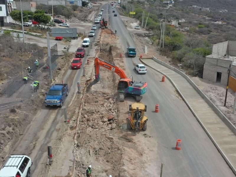 Anuncian Trabajos en  en Carretera Estatal 540