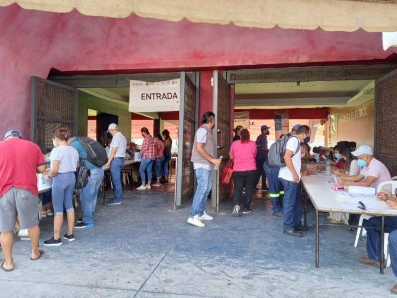 Anuncian vacunación de 30 a 39 para Boca Del Río