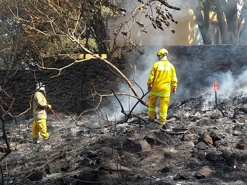 Apagan incendio en Pinar de la Venta