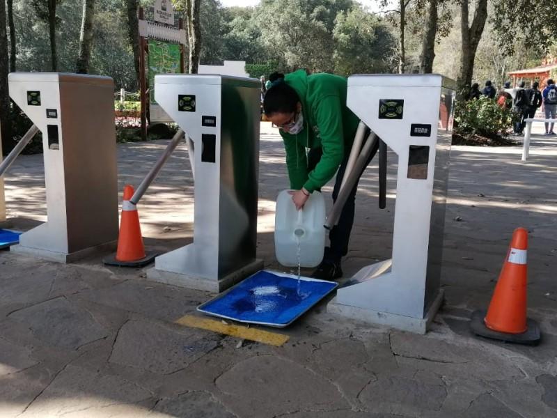 Aperturan Parques Seguros en EDOMEX