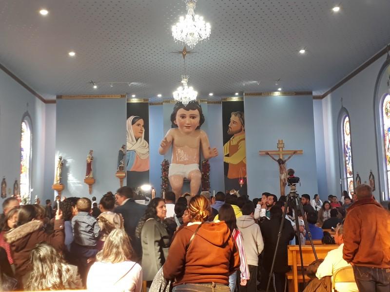 Aperturan templo del Niño Dios más grande