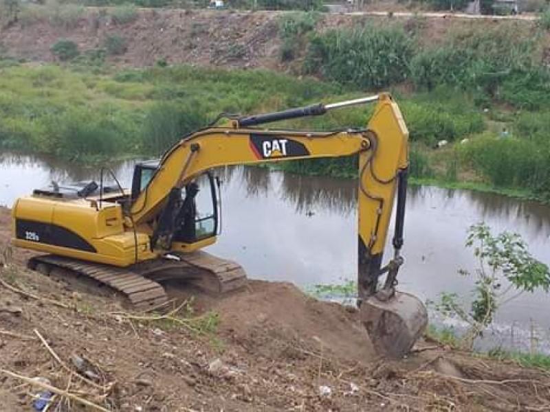 Aplica Conagua 12 MDP para limpiar el río en Juchitán