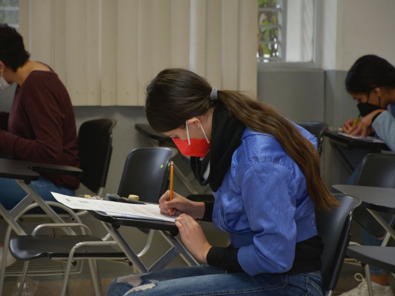 Aplica UMSNH exámenes de nuevo ingreso