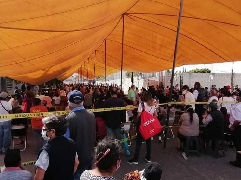 Aplican 4 mil 118 vacunas contra COVID-19 en Tehuacán