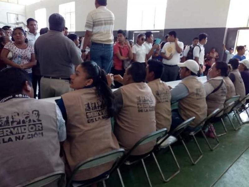 Aplican 5 programas federales en Salina Cruz