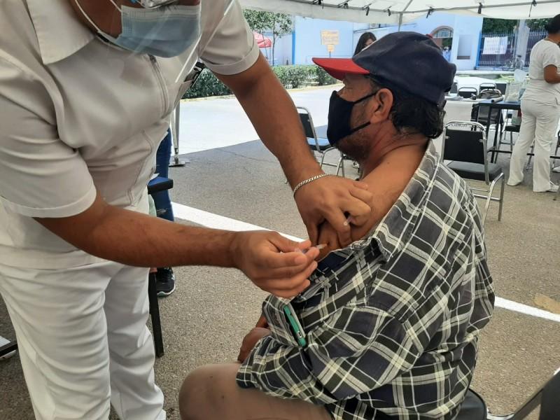 Aplican 20 mil vacunas Covid-19 en Gómez Palacio