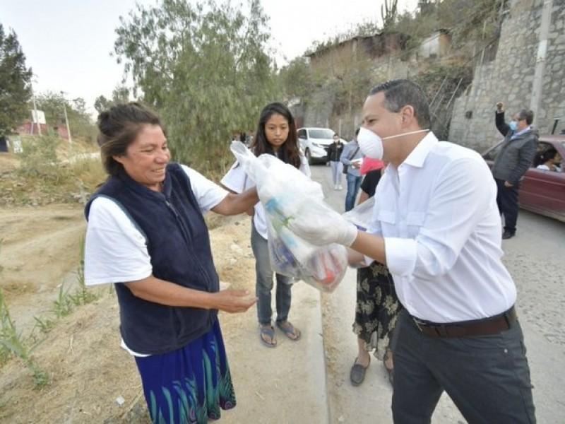 Aplican medidas obligatorias de seguridad sanitaria en Oaxaca
