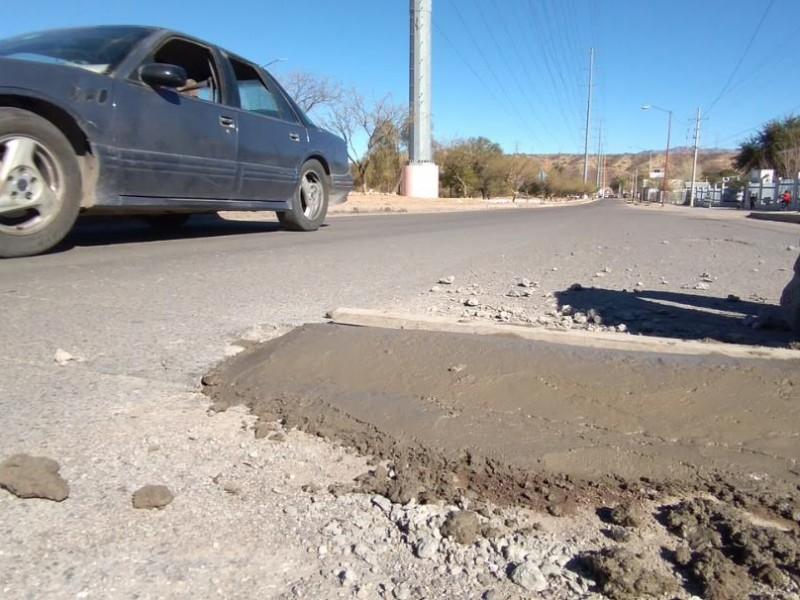 Aplican plan de mejoramiento vial en diversas colonias de Nogales