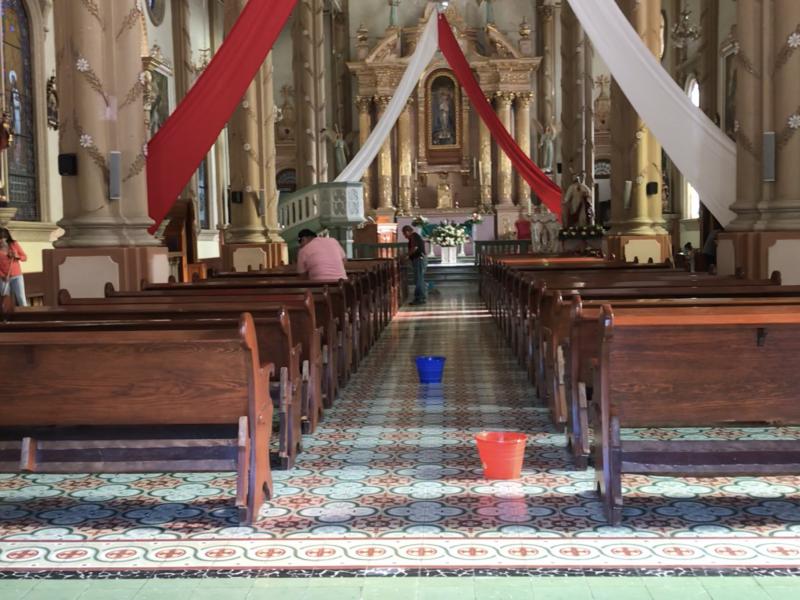 Aplican protocolo en apertura de iglesias