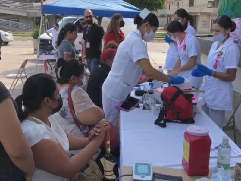 Aplican Rotarios de Nogales A.C. jornada de salud
