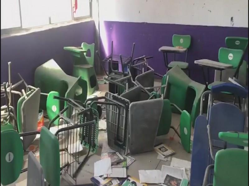 Aplicarán programa de apoyo a instituciones educativas vandalizadas
