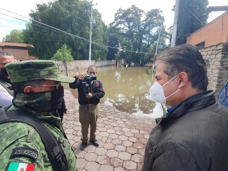 Aplicarán seguro a viviendas en Tequisquiapan