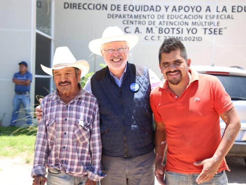 Apoya SEDEA a agricultores con paquetes tecnológicos
