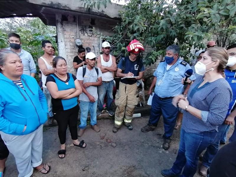 Ayuntamiento de Xalisco apoyará reubicación de familias damnificadas
