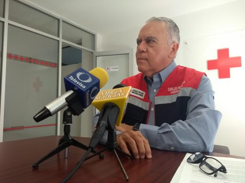 Apoyará Cruz Roja a migrantes