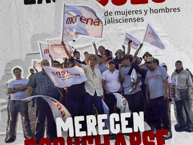 Aprueba IEPC coalición Morena - PT para Tlaquepaque