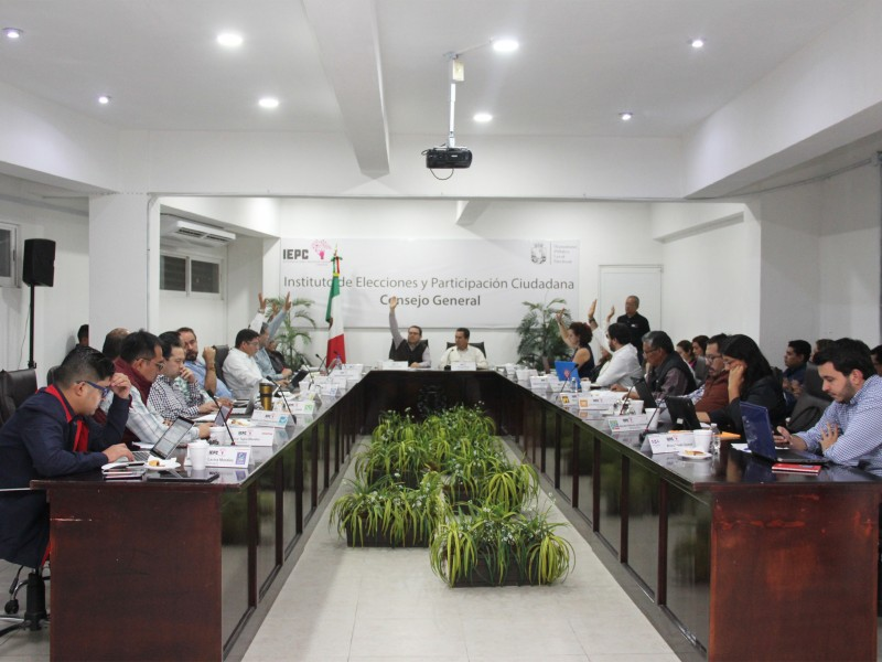 Aprueba IEPC conformación de consejos distritales y municipales