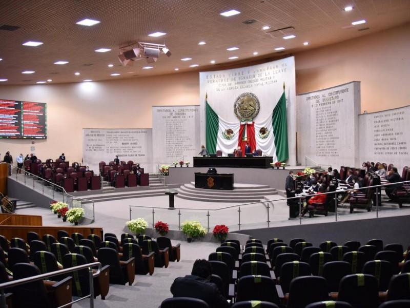 Aprueban diputados locales presupuesto 2021 para el Estado