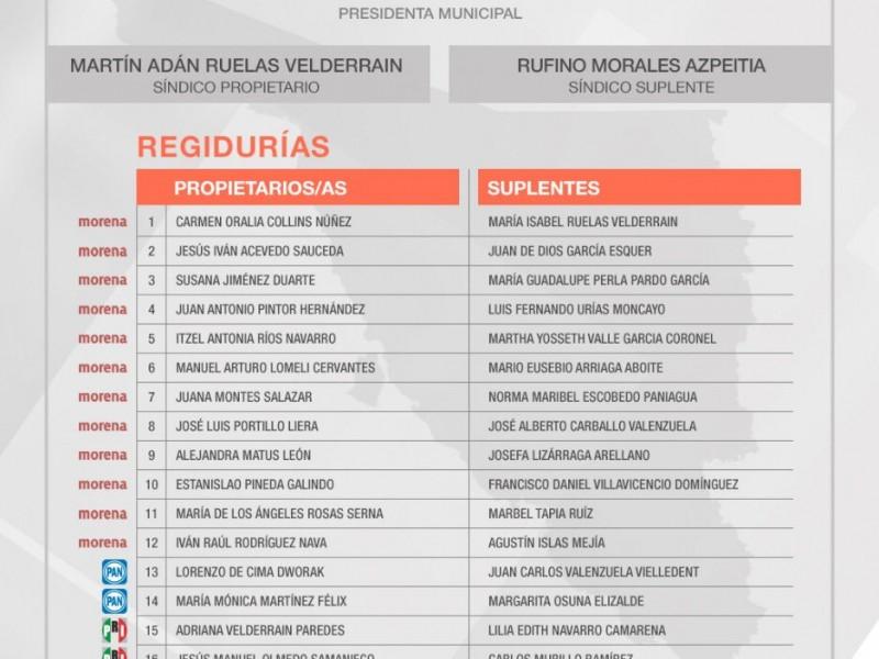 Aprueban regidurias para Guaymas