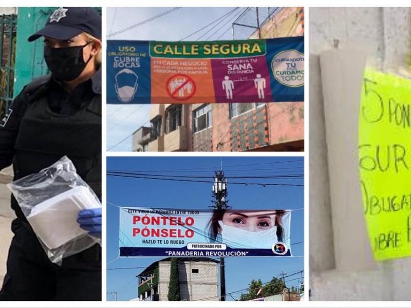 Aprueban uso de cubrebocas obligatorio en Atlixco, habrá sanciones