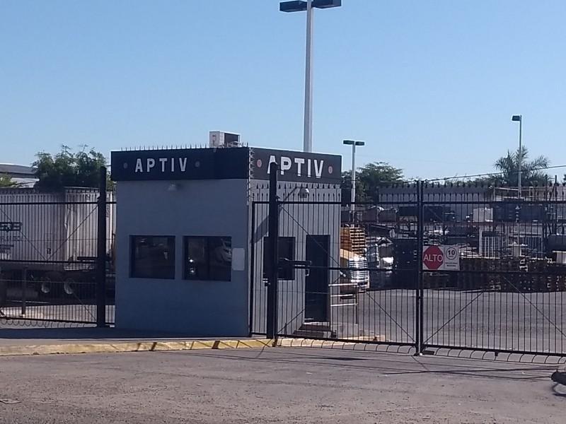 APTIV reanudó actividades este lunes