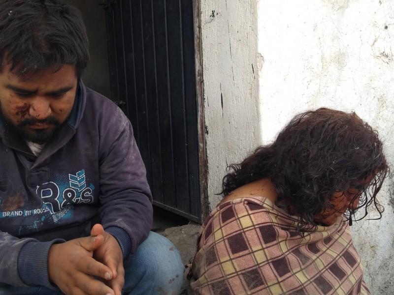 Apunto de ser linchados presuntos secuestradores en Tlacotepec