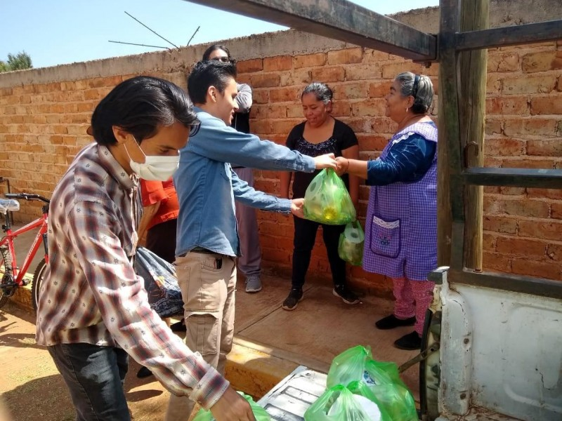 Árboles por alimentos, proyecto altruista impulsado por zacatecanos