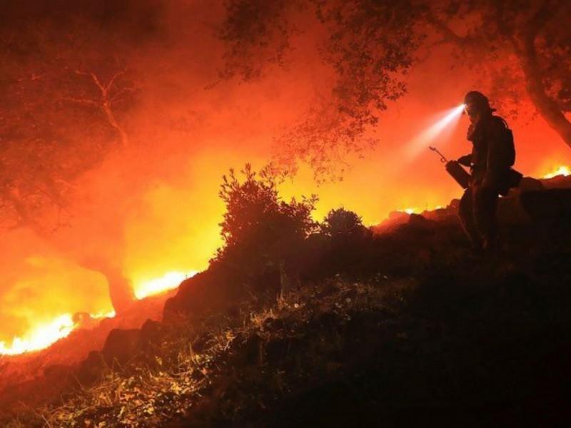 Arde México; 58 incendios activos en 19 estados