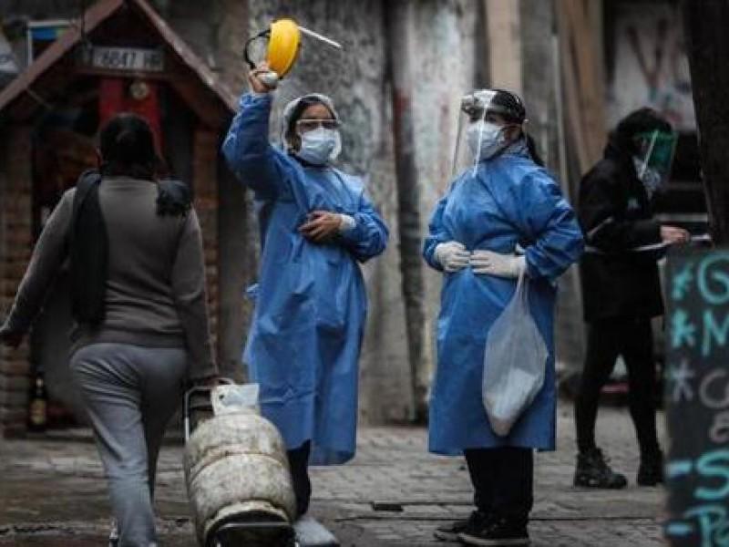Argentina acumula más de cuatro millones de infecciones Covid-19