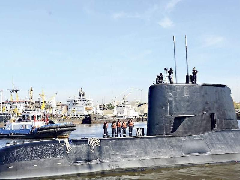 Argentina localiza submarino desaparecido en 2017