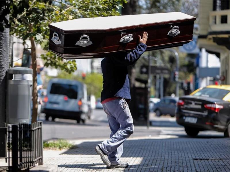 Argentina reporta más de 10 mil nuevos casos Covid-19