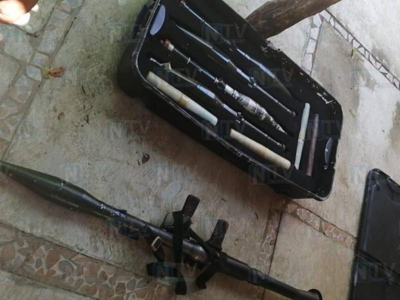Armas decomisadas en Guayabitos fueron robadas de Chihuahua