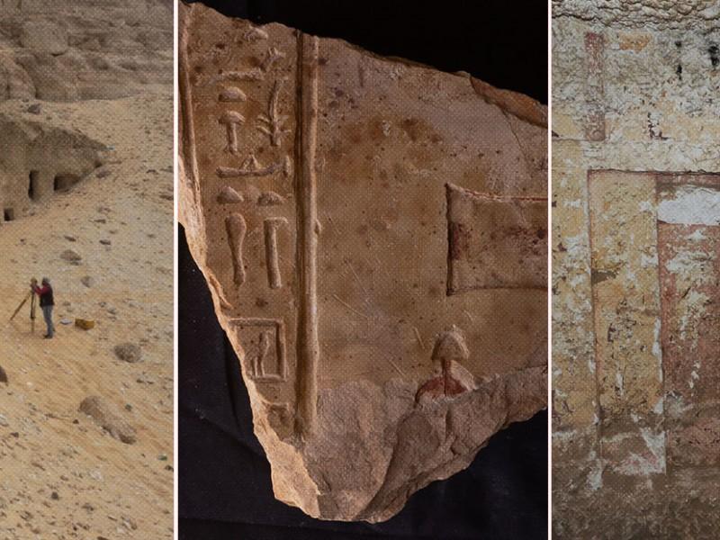 Arqueólogos encuentran 250 tumbas del antiguo Egipto