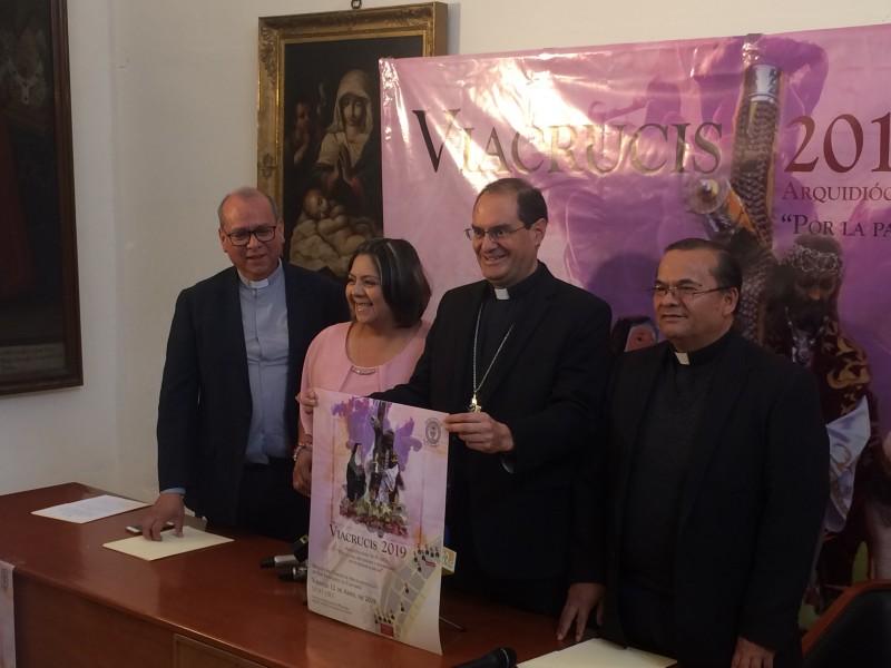 Arquidiócesis, anuncia Viacrucis Angelopolitano