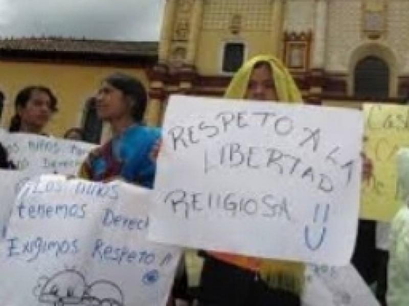 Arquidiócesis católica se deslinda de intolerancia religiosa en Chiapas.