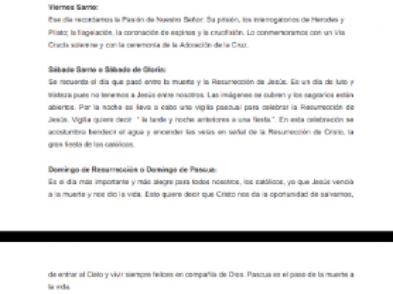 Arquidiócesis de Puebla da a conocer horarios de Semana Santa
