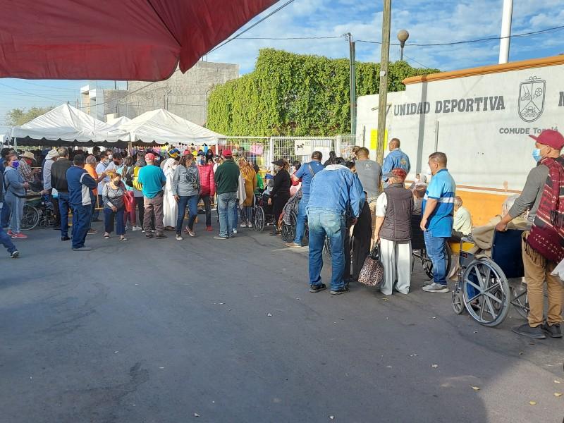Arranca aplicación de segunda dosis de vacuna en Tonalá