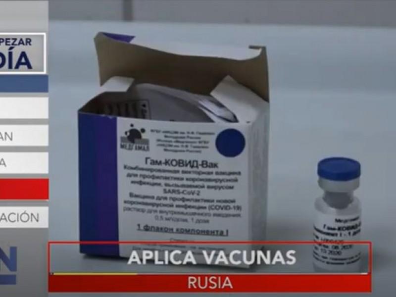Arranca campaña de vacunación contra coronavirus en Rusia