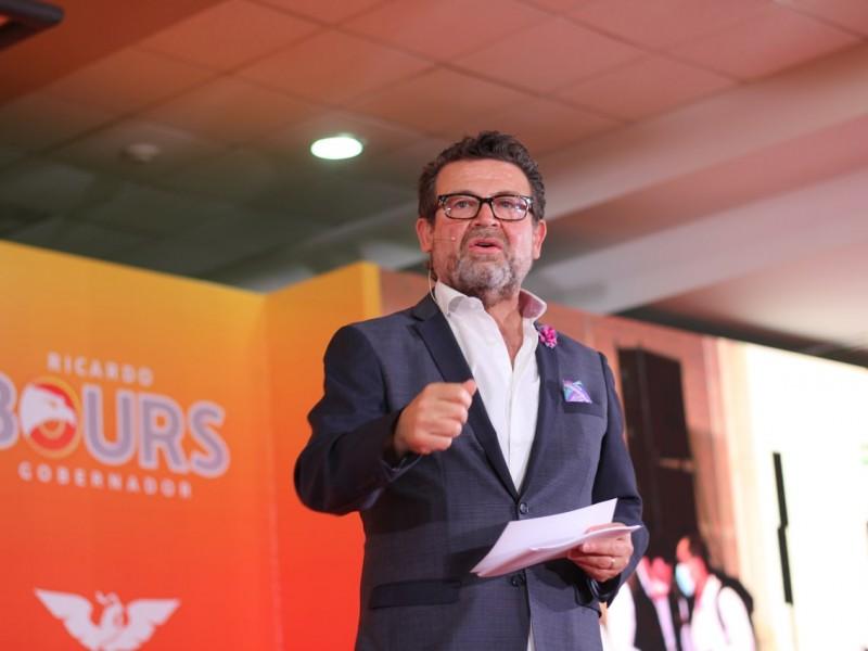 Arranca campaña Ricardo Bours como candidato a gubernatura de Sonora