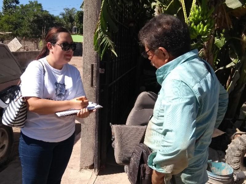 Arranca DIF censo de damnificados
