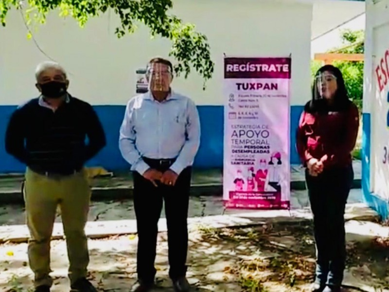 Arranca en Tuxpan Estrategia Temporal para Personas Desempleadas
