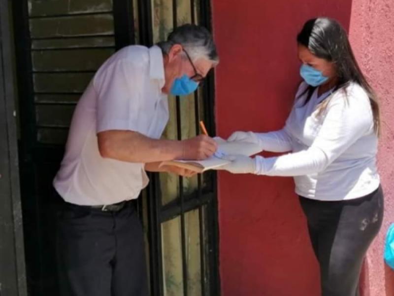 Arranca entrega de apoyos emergentes por contigencia sanitaria