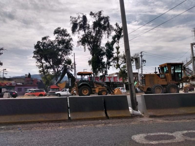 Arranca nueva etapa de pavimentación en Periférico