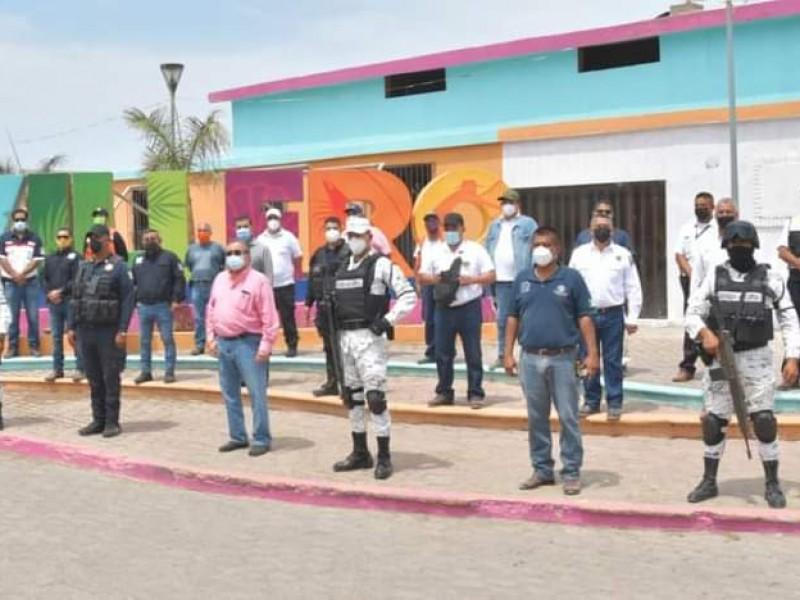 Arranca operativo de Semana Santa en Tecuala; habrá módulos restrictivos