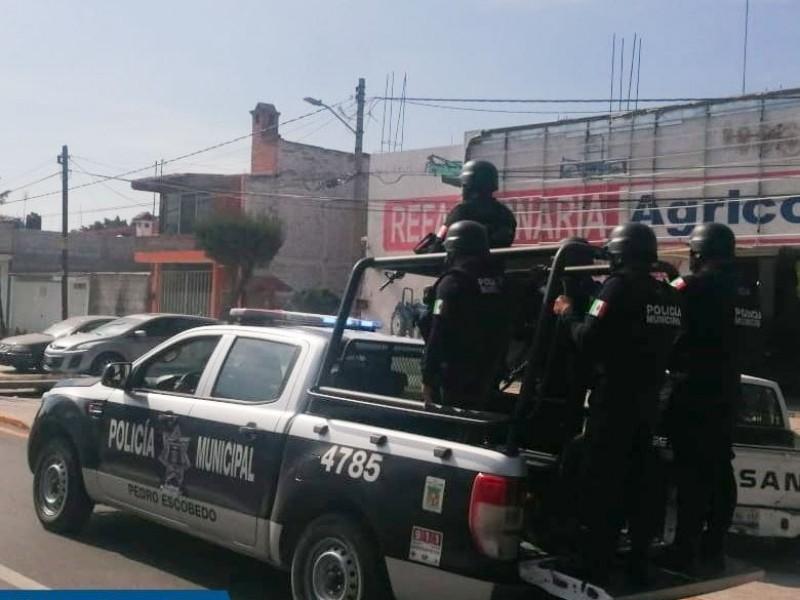 Arranca Operativo decembrino en Pedro Escobedo