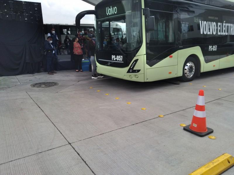 Arranca prueba piloto del primer autobús eléctrico en León
