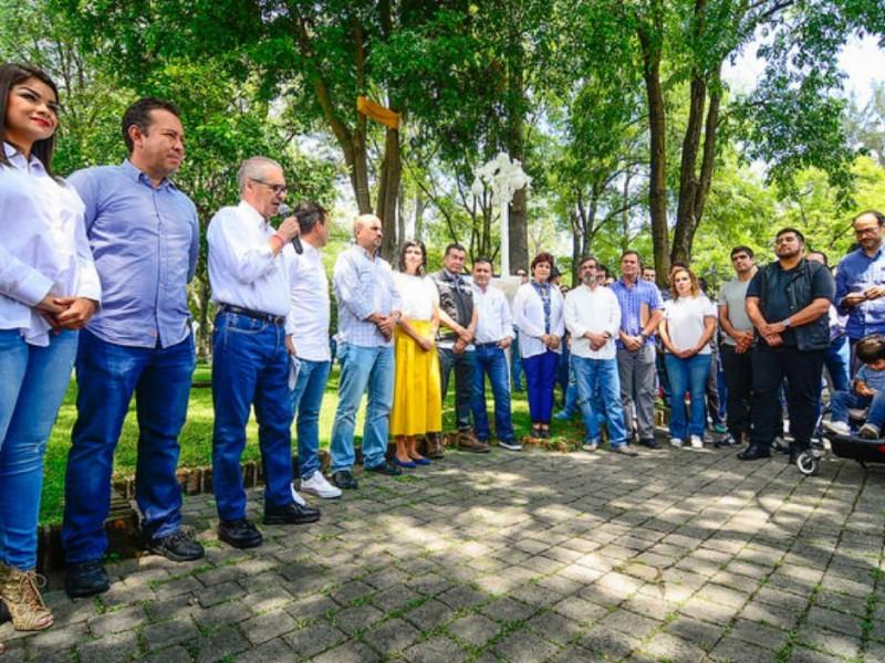 Arranca renovación integral de Glorieta Chapalita